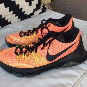 Nike Shoes - Nike Zoom Women's Orange Black  size 11.5 shoes